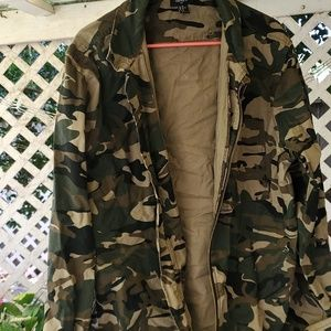 Men's Camo Jacket Forever 21 XL
